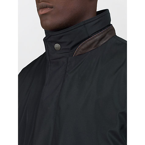 Buy Bugatti Technical Funnel Neck Overcoat Online at johnlewis.com