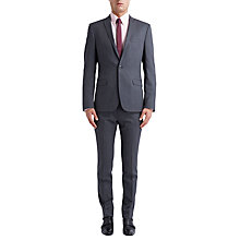 Buy Ben Sherman Tailoring Plain Twill Suit Jacket, Smoked Pearl Online at johnlewis.com