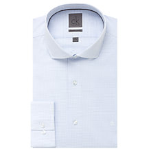 Buy CK Calvin Klein Wavy Check Shirt, Blue/White Online at johnlewis.com