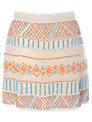 True Decadence Sequin Skirt, Multi