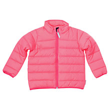 Buy Polarn O. Pyret Girls' Puffer Jacket, Pink Online at johnlewis.com