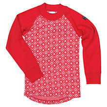 Buy Polarn O. Pyret  Merino Wool Snowflake Top, Red Online at johnlewis.com