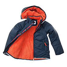 Buy Polarn O. Pyret Padded Coat, Blue Online at johnlewis.com