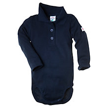 Buy Polarn O. Pyret Baby Polo Bodysuit Online at johnlewis.com
