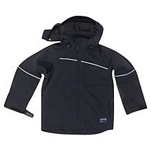 Buy Polarn O. Pyret Waterproof Jacket, Black Online at johnlewis.com
