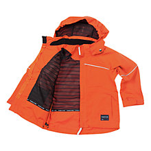 Buy Polarn O. Pyret Waterproof Jacket, Orange Online at johnlewis.com