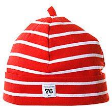 Buy Polarn O. Pyret Stripe Beanie Hat Online at johnlewis.com