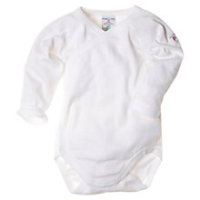 Buy Polarn O. Pyret Wrap-Around Bodysuit Online at johnlewis.com