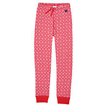 Buy Polarn O. Pyret Merino Wool Snowflake Long Johns, Red Online at johnlewis.com
