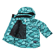 Buy Polarn O. Pyret Baby Waterproof Cloud Jacket, Green Online at johnlewis.com