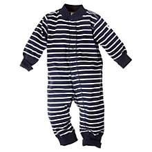 Buy Polarn O. Pyret Baby Stripe Cotton Romper Online at johnlewis.com