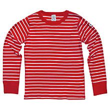 Buy Polarn O. Pyret Stripe Cotton T-Shirt Online at johnlewis.com
