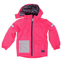 Buy Polarn O. Pyret Padded Children's Jacket, Pink Online at johnlewis.com