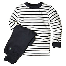 Buy Polarn O. Pyret Children's Striped Pyjamas Online at johnlewis.com