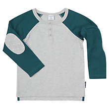 Buy Polarn O. Pyret Baby's Henley Top Online at johnlewis.com
