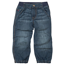 Buy Polarn O. Pyret Baby's Loose Fit Jeans, Blue Online at johnlewis.com