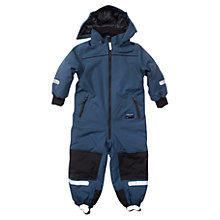 Buy Polarn O. Pyret Children's Padded Overall, Blue Online at johnlewis.com