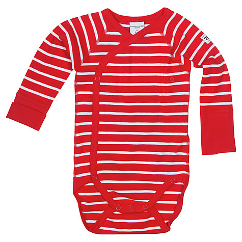 Buy Polarn O. Pyret Baby Wraparound Bodysuit Online at johnlewis.com