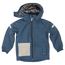 Buy Polarn O. Pyret Padded Children's Jacket, Blue Online at johnlewis.com