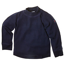 Buy Polarn O. Pyret Merino Wool Turtleneck Jumper, Navy Online at johnlewis.com
