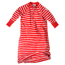 Buy Polarn O. Pyret Baby Stripe Sleeping Bag, Red Online at johnlewis.com