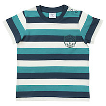 Buy Polarn O. Pyret Baby's Stripe T-Shirt Online at johnlewis.com