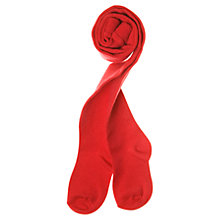 Buy Polarn O. Pyret Wool Blend Tights, Red Online at johnlewis.com