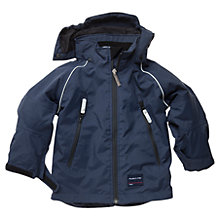 Buy Polarn O. Pyret Waterproof Coat, Navy Online at johnlewis.com