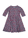 Polarn O. Pyret Baby's Flower and Spot Dress