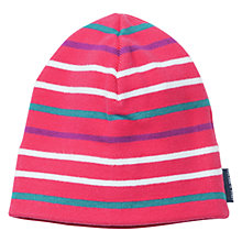 Buy Polarn O. Pyret Striped Beanie Hat Online at johnlewis.com