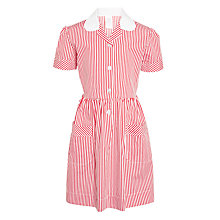 Buy John Lewis School Striped Summer Dress Online at johnlewis.com