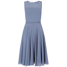 Buy Hobbs Invitation Abigale Dress, Delphinium Blue Online at johnlewis.com