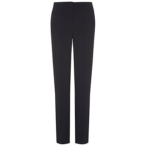 Buy Hobbs Mari Trousers, Navy Online at johnlewis.com