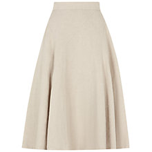 Buy Hobbs Tia Linen Skirt Online at johnlewis.com