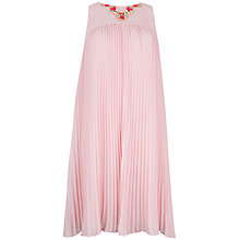 Buy Ted Baker Embellished Pleated Dress Online at johnlewis.com
