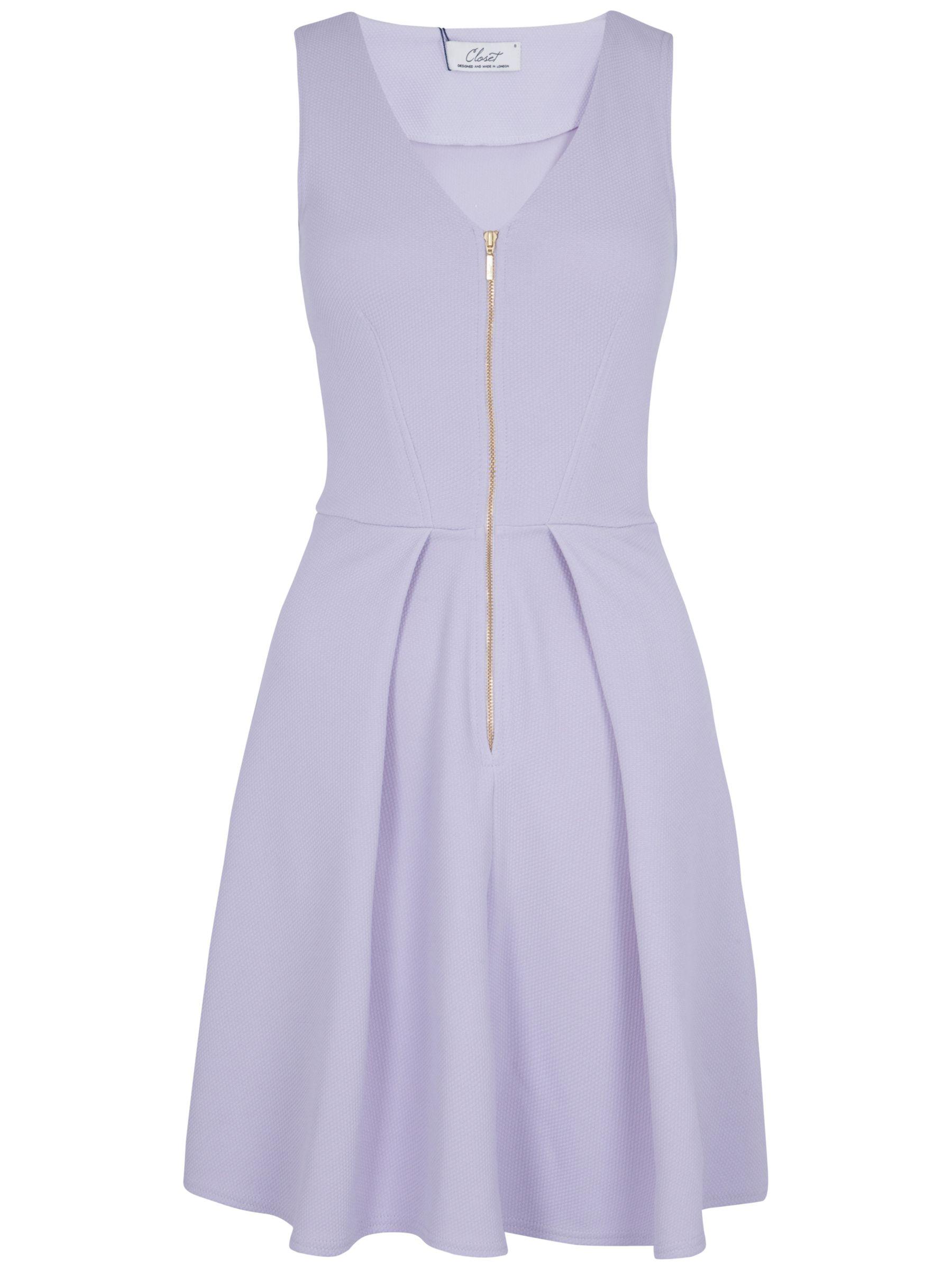 closet zip front ponti dress lilac, closet, zip, front, ponti, dress, lilac, 10 12 8, clearance, womenswear offers, womens dresses offers, women, womens dresses, special offers, 1511282