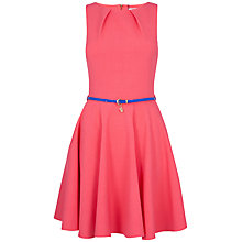 Buy Closet Belted Flare Dress Online at johnlewis.com