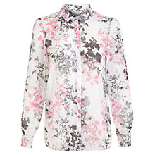 Buy Miss Selfridge Botanical Print Shirt, Assorted Online at johnlewis.com