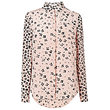 Buy L.K. Bennett Blues Silk Print Shirt, Ballerina Online at johnlewis.com