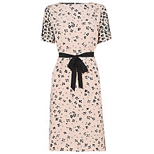 Buy L.K. Bennett Blossom Print Silk Dress, Ballerina Online at johnlewis.com