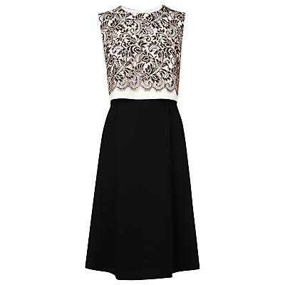 L.K. Bennett Finch Lace Dress, Cream