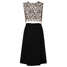 Buy L.K. Bennett Finch Lace Dress, Cream Online at johnlewis.com