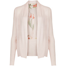 Buy Ted Baker Darcee Botanical Bloom Print Wrap Cardigan, Pale Pink Online at johnlewis.com