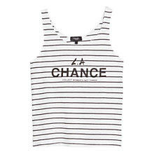 Buy Mango Message Striped Vest, Navy Online at johnlewis.com
