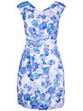 Closet Floral Print Tie Back Dress, Multi