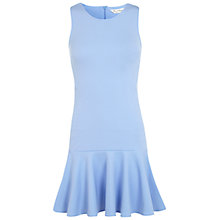 Buy Miss Selfridge Trumpet Hem Dress, Blue Online at johnlewis.com