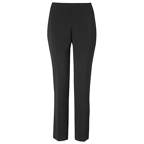 Buy L.K. Bennett Cosmos Trousers, Black Online at johnlewis.com
