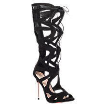 Buy Carvela Gylda Lace Up Gladiator High Heel Sandals Online at johnlewis.com