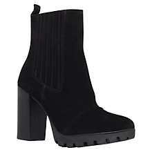 Buy Carvela Sinner Suede High Block Heel Calf Boots Online at johnlewis.com