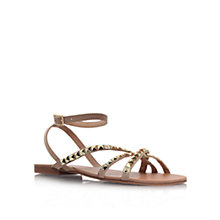 Buy Carvela Bella Flat Studded Sandals Online at johnlewis.com